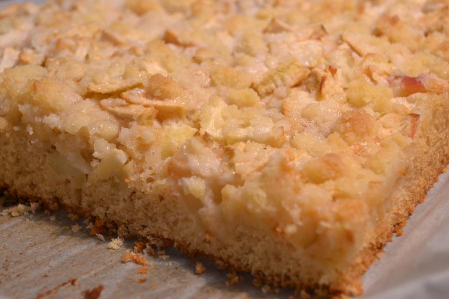 Apfelkuchen Vom Blech Ruhrteig Mr Benway S